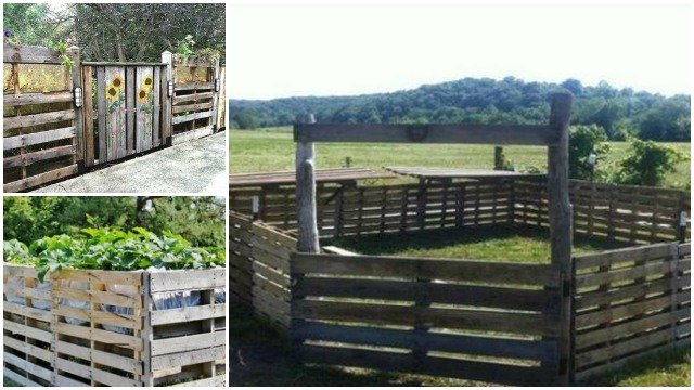 DIY Wood Pallet Fence Projects and Ideas Video Tutorial