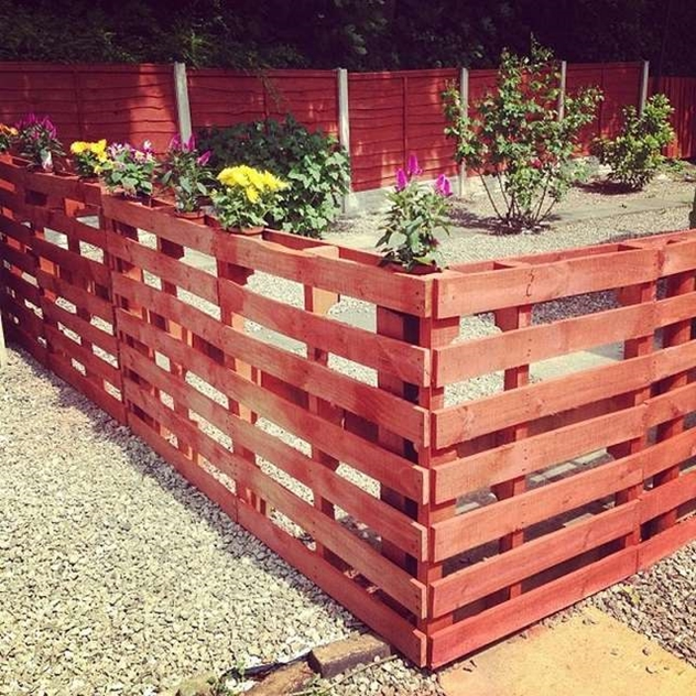 diy wood pallet fence projects video tutorial garden ideas using