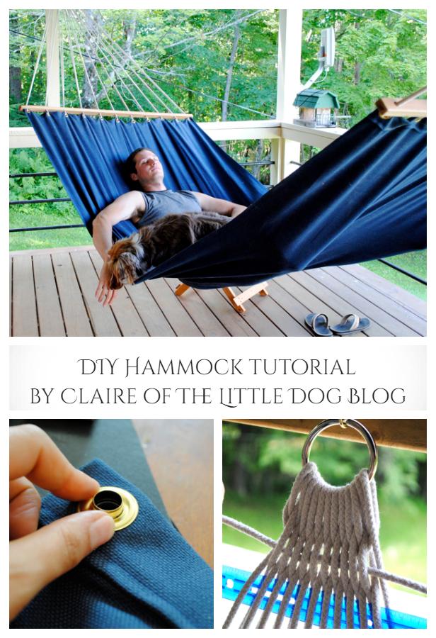 Easy DIY Fabric Hammocks Tutorials