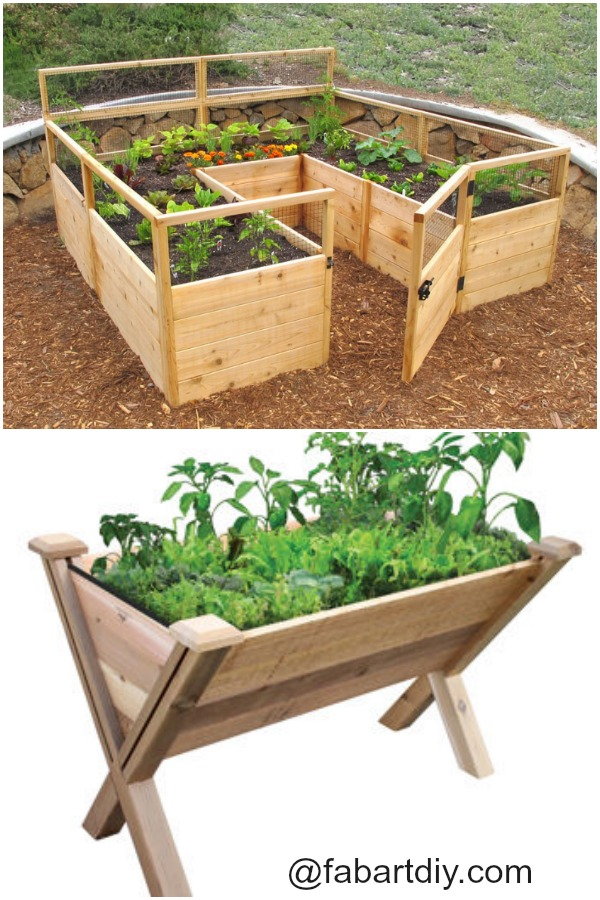 Raised Garden Beds Projects