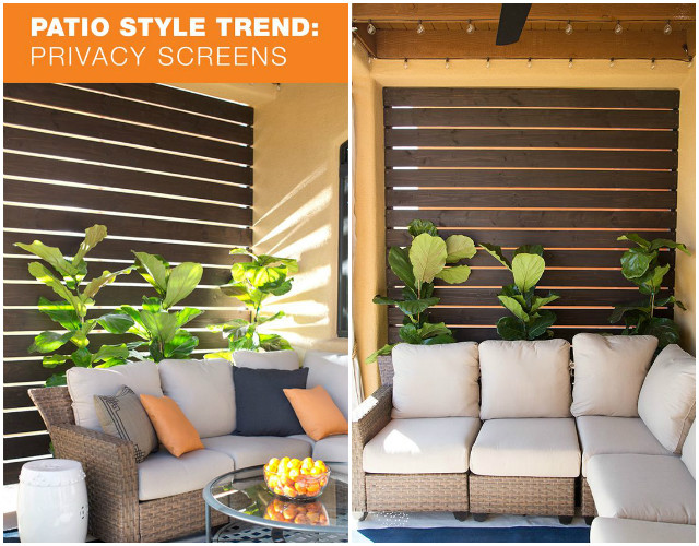 10 DIY Patio Privacy Screen Projects Free Plan-DIY Outdoor Wood Privacy Wall