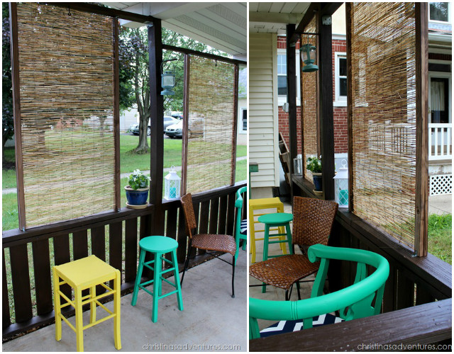 10 Diy Patio Privacy Screen Projects Free Plan S Bamboo