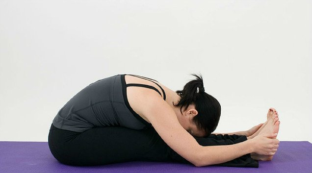 10 Easy Yoga Poses To Reduce Belly Fat-– Seated Forward Bend