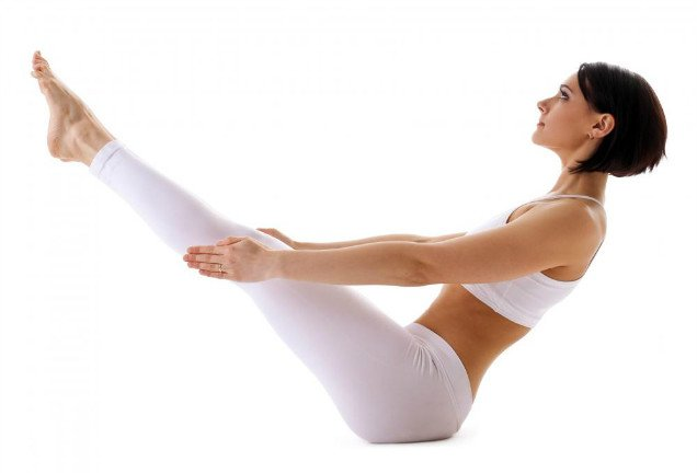 10 Easy Yoga Poses To Reduce Belly Fat-Pontoon Posture