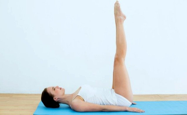 10 Easy Yoga Poses To Reduce Belly Fat -Raised Foot Pose