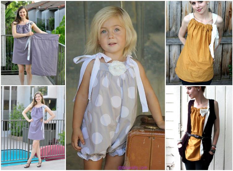 DIY Pillowcase Dress Top Romper Tutorial