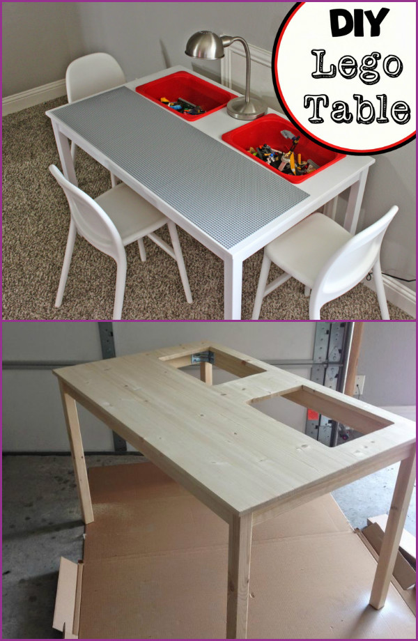 Transform Ikea Dinning Table Into Lego Play