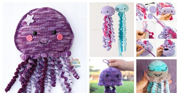 Knitted Amigurumi Sea Creatures: Complete Instructions for 6 ...   320x616