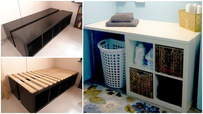 20 Cube Organizer DIY Ideas To De-clutter Your Whole House