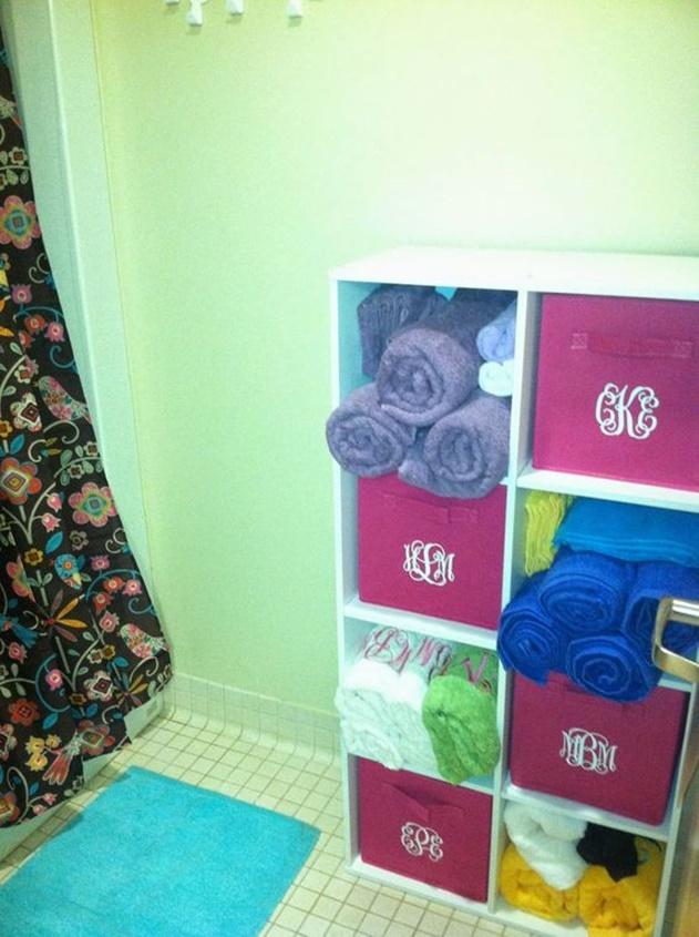 20 Cube Organizer DIY Ideas To De-clutter Your Whole House-Bathroom Organization