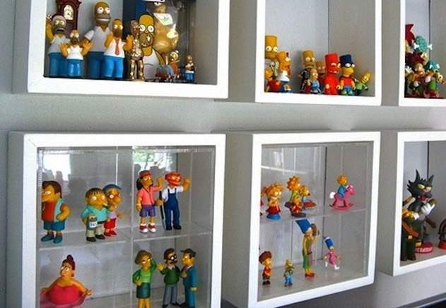 20 Cube Organizer DIY Ideas To De-clutter Your Whole House-Collection Cube Window Display