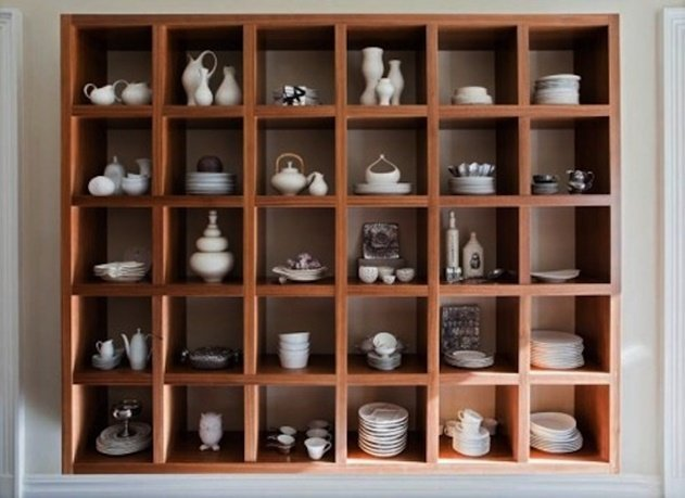 20 Cube Organizer DIY Ideas To De-clutter Your Whole House-Dishware cabinet