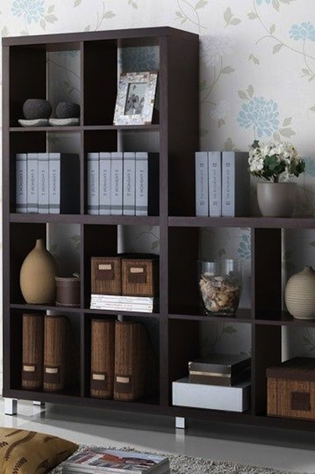 20 Cube Organizer DIY Ideas To De-clutter Your Whole House-Traditional Bookshelf