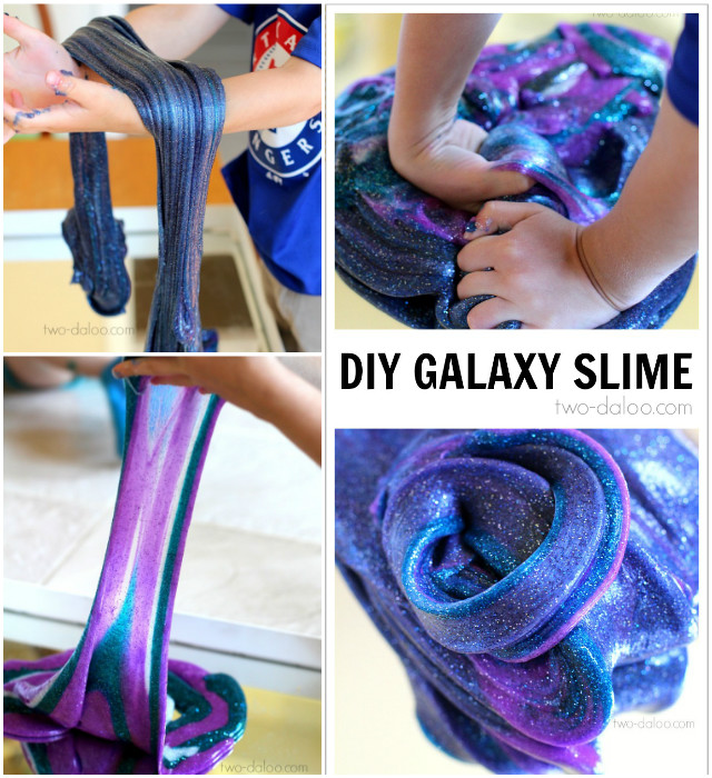 DIY GalaXy Slime Recipes for Endless Kids Fun