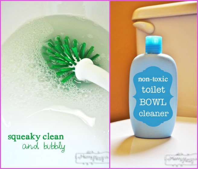 DIY Homemade Toilet Bowl Cleaner Recipe – Non Toxic