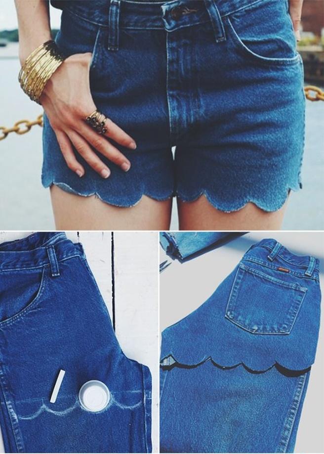 DIY Stylish Cut Off Jean Shorts Tutorials