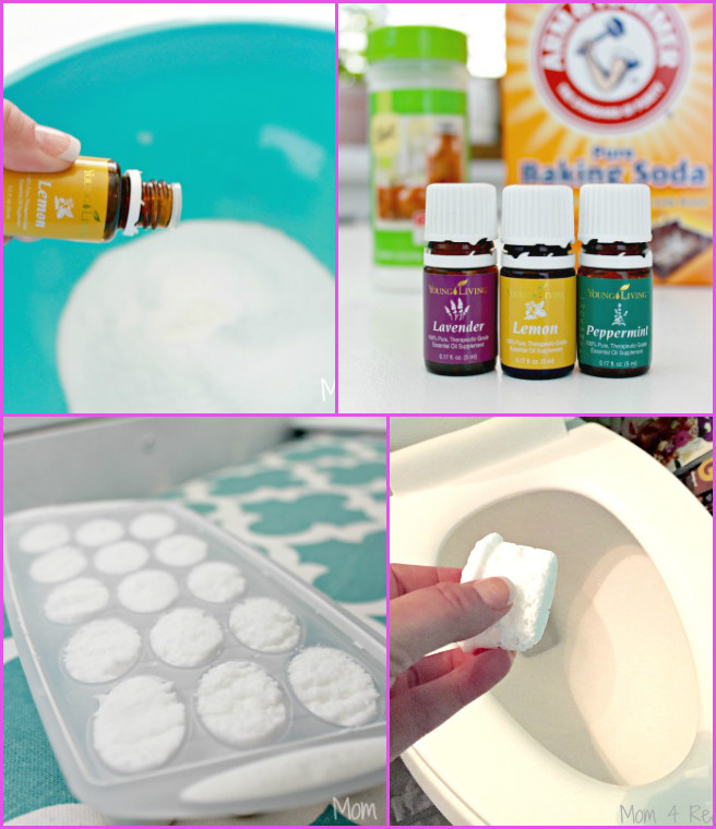 DIY Toilet Cleaning Bombs Recipe