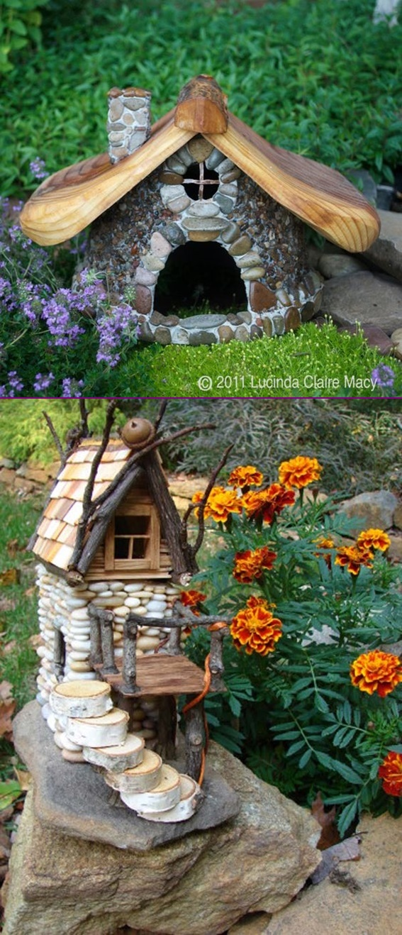 Diy Miniature Stone Fairy House Tutorial