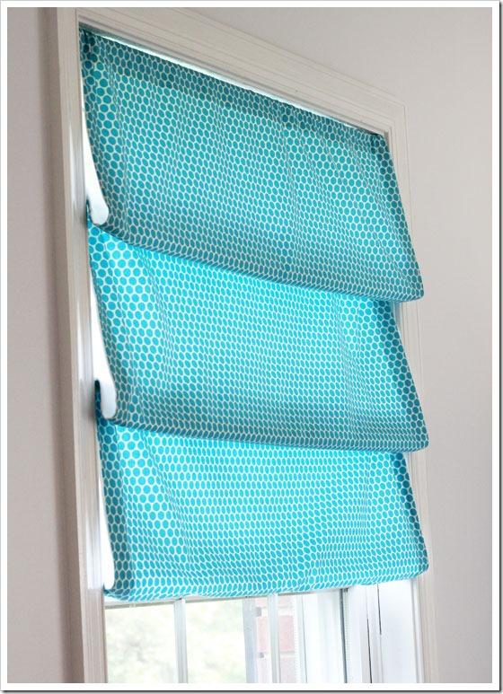 DIY No Sew Window Shade