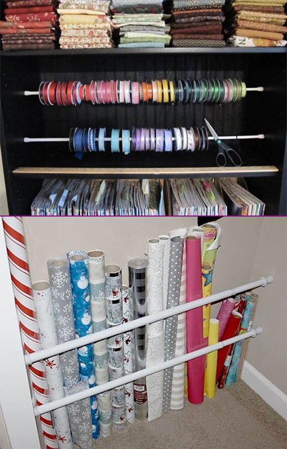 12 Tension Rod Uses To Keep Home Organized