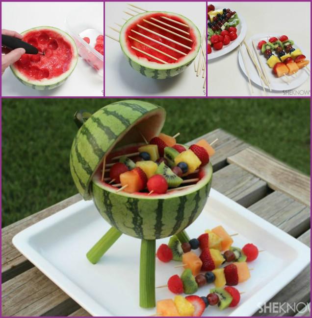 DIY Watermelon Kebab Tutorial