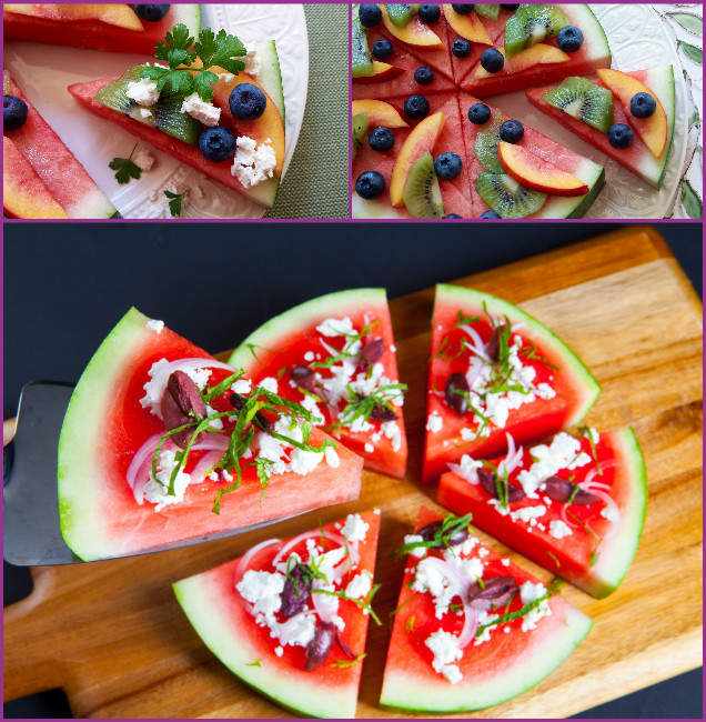 DIY Watermelon Pizza Tutorial