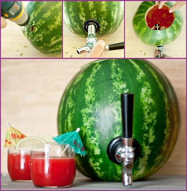 DIY Watermelon cocktail keg Tutorial