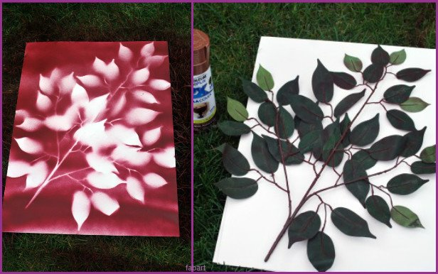 10 Fabulous Ways to Decorate Your Empty Wall - flower paint tree flower art