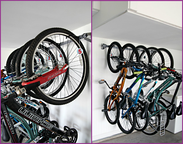 DIY Family Bike Storage Wall Solutions