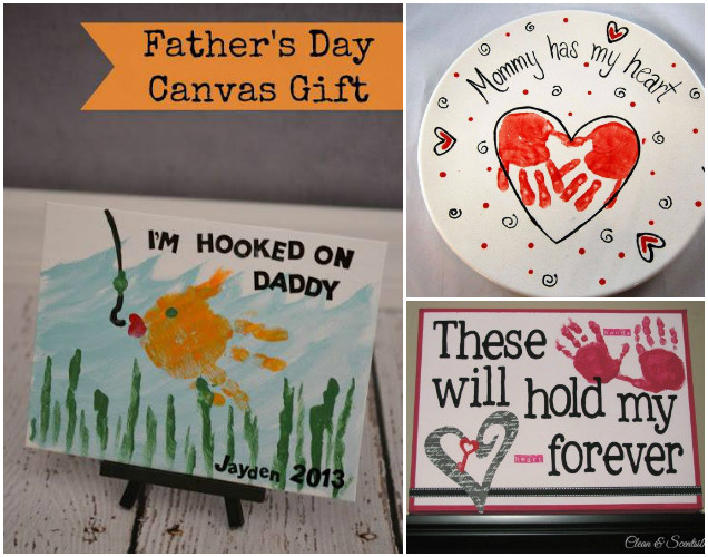 Hand & Footprint Art DIY Ideas and Projects