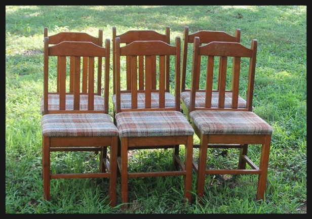 How to Build Recycled Chair Tree Bench 1