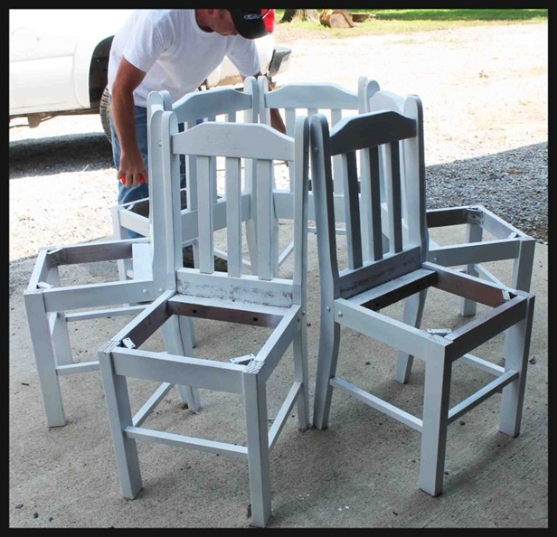Prime Recycled Diy Chair Tree Bench Tutorial Frankydiablos Diy Chair Ideas Frankydiabloscom
