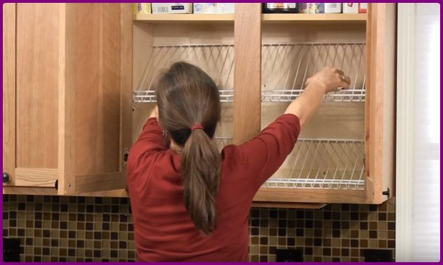 DIY Canned Food Storage Solution With Wire Shelf