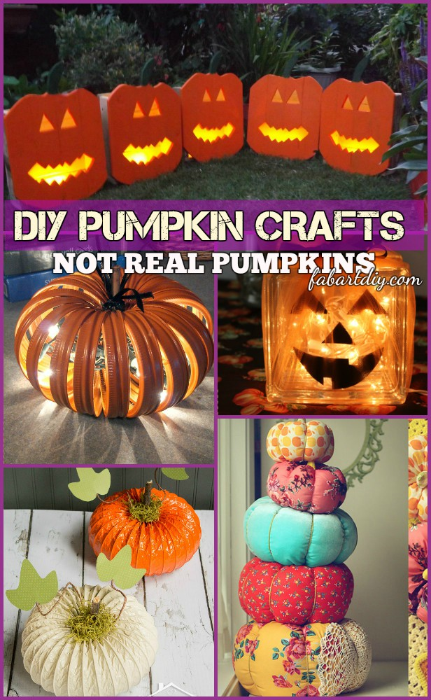 DIY Alternative Pumpkin Craft Ideas