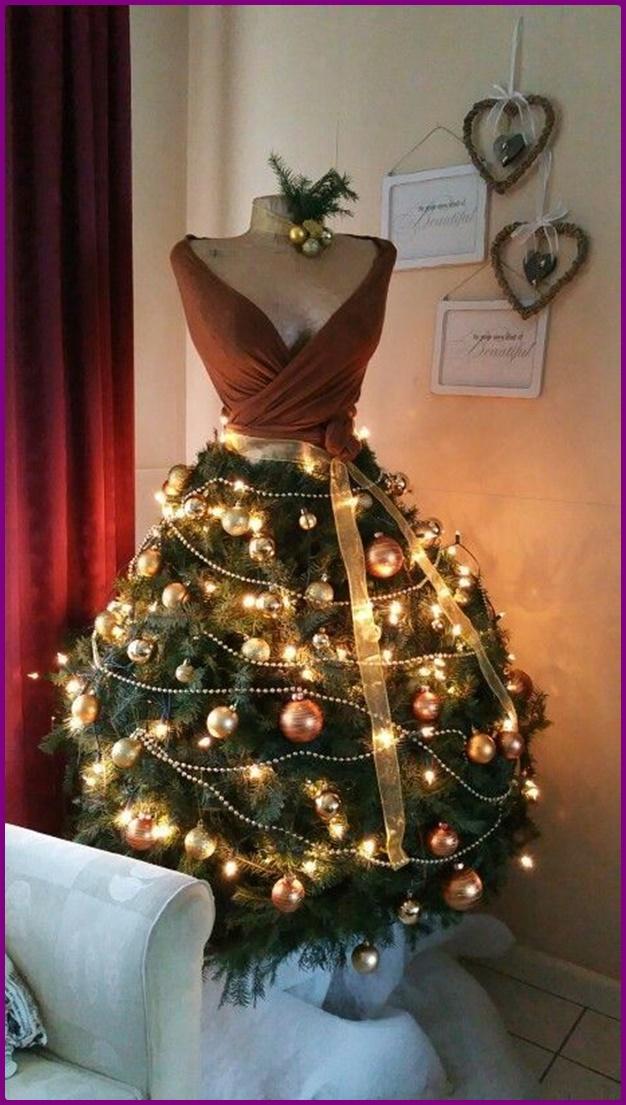 DIY Mannequin Christmas Tree Tutorial-Video