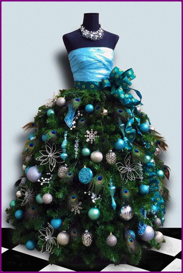 Dress Form DIY Mannequin Christmas Tree Tutorial - Video
