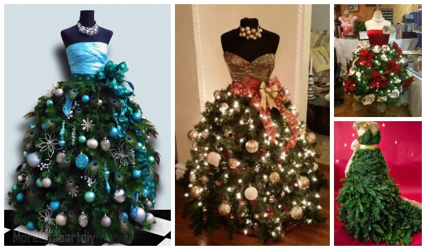 DIY Mannequin Christmas Tree Tutorial - Video