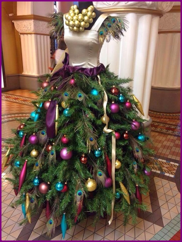 Dress Form Diy Mannequin Christmas Tree Tutorial Video
