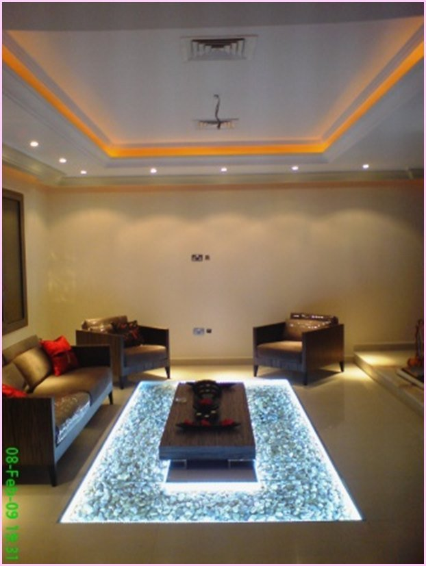 Diy led lighted glass flooring with pebbles tutorial solutioingenieria Image collections
