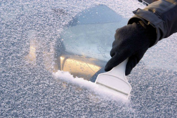 DIY Spray Defrost Your Car Windshield in Seconds