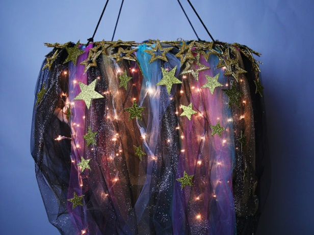 DIY Galaxy Chandelier Tutorial-Video