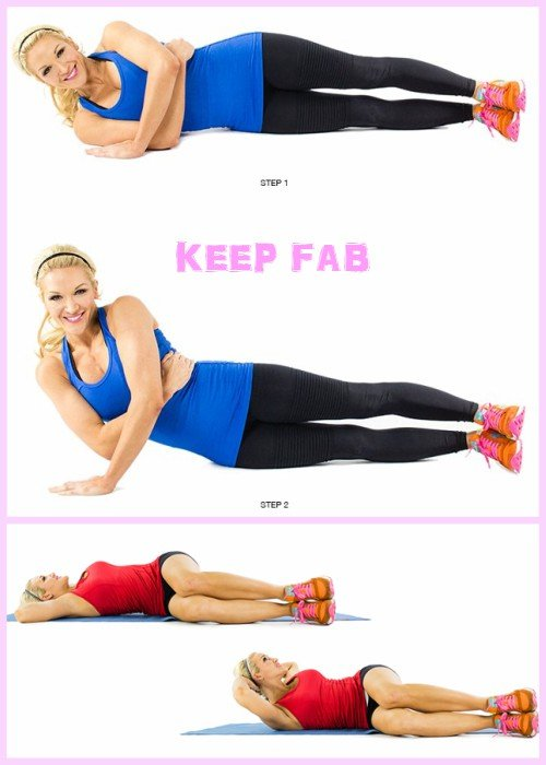 7 Day Challenge: Home Workouts to Lose Your Muffin Top