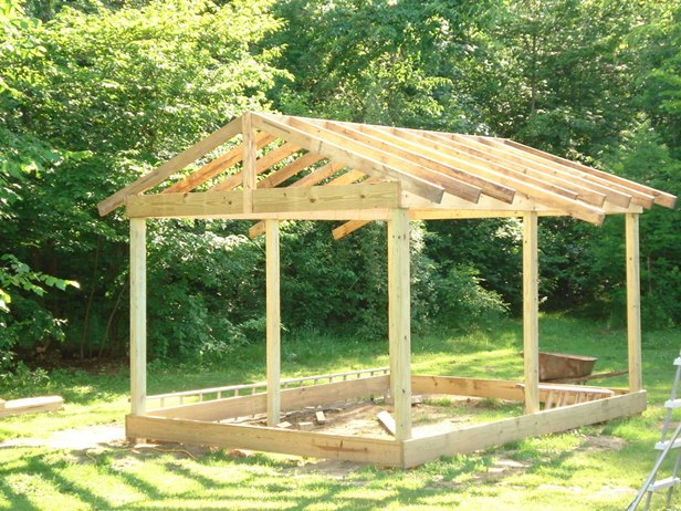 DIY 12X20 Wood Cabin Shed Tutorial on Budget
