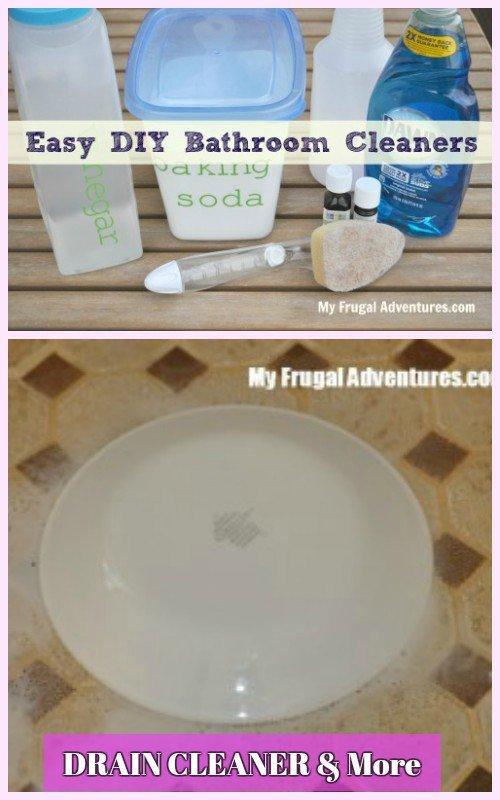 DIY Magic Homemade Shower Cleaner SolutionSuper Easy Recipe - Diy bathroom cleaner