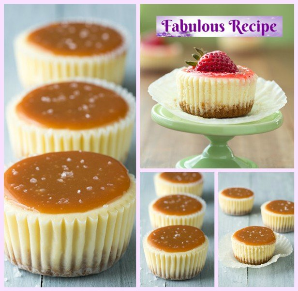 DIY Mini Cheesecake Cupcakes Recipe