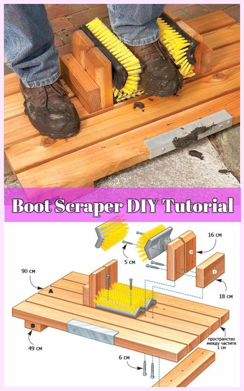 DIY Mud-Busting Boot Scrape Tutorial