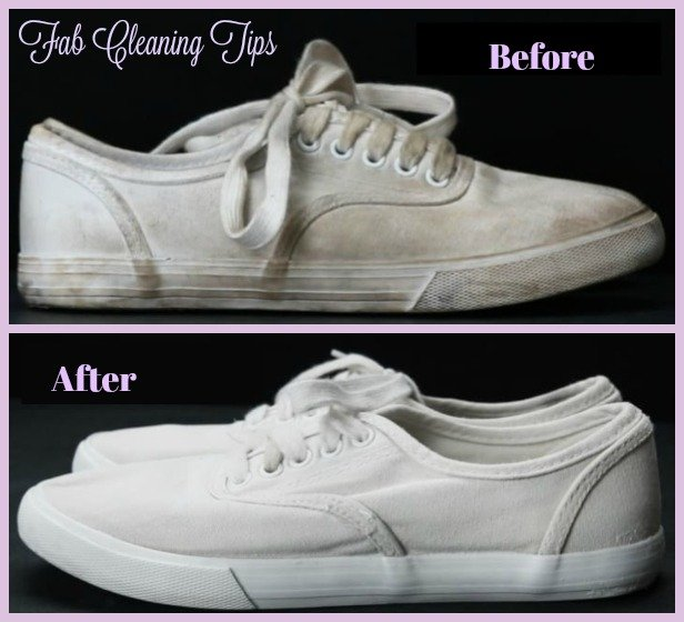 Laundry Hack: Easy Way To Clean Your White Shoes