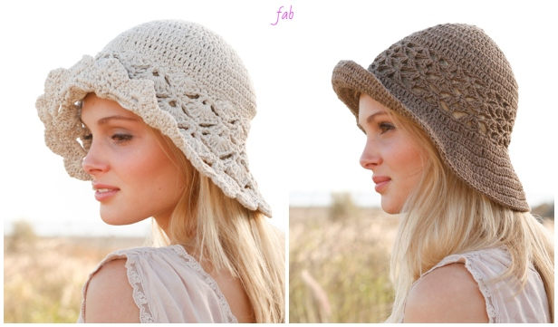 Crochet Women Shell Summer Sun Hat Crochet Free Patterns