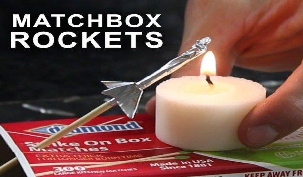 DIY Matchbox Rocket Launching Kit Tutorial - Super Fun for Kids