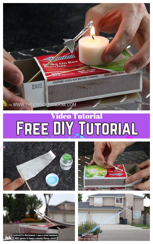 Diy matchbox rocket launching kit tutorial more diy ideas solutioingenieria Image collections